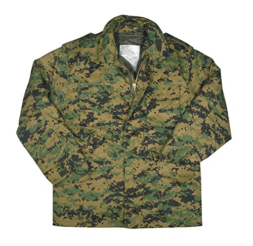 Rothco M-65 Field Jacket-Woodland Digital/3X-Large -