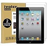 iVoler [2 Pack] Pellicola Vetro Temperato per iPad 2/3/4 9.7 Pollici, Pellicola Protettiva, Protezione per Schermo