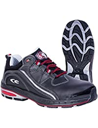 Cofra zapatos de seguridad Stoppie S3 SRC New grevinga 19120-001, la mitad de zapatos negro