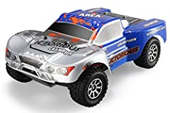 Idea Regalo - Teckey- +70 Km/h Macchina Radiocomandata da Corsa Alta Velocità PROFESSIONALE Nuovi Modelli Fuoristrada Sportiva 4WD 4 Ruote Motrici Scala 1:18 Antiurto Idrorepellente 2,4 GHz Blu