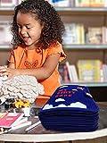 rosemaryrose Quiet Book Baby Buch Babyspielzeug Stoffbuch -Kid Vlies Buch DIY Keuchen Buch Manuelle Intelligenz-Puzzle Kinder Spielzeug Buch Für Kinder Früherziehung