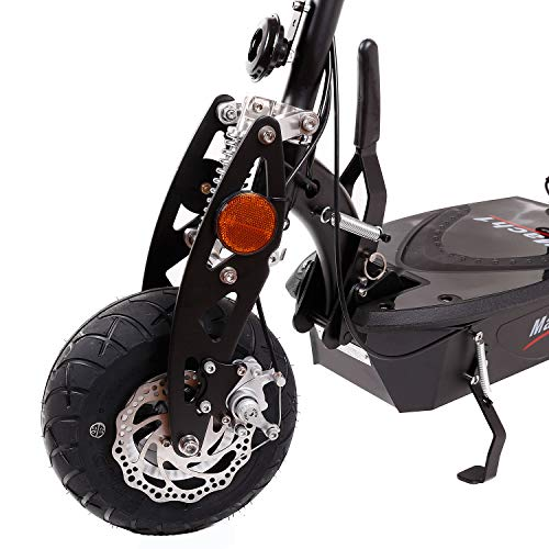 MACH1® Elektro E-Scooter mit EU Strassenzulassung 20Km/h Mofa Modell-2 EEC 36V/500W (Es besteht keine Helmpflicht für diesen Scooter) (1x 36V-16Ah Panasonic Akkus) - 5