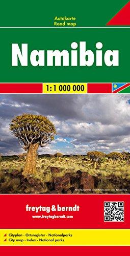 Namibia, Autokarte 1:1.000.000, freytag & berndt Auto + Freizeitkarten