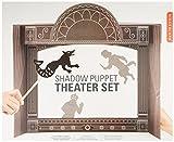Kikkerland Shadow Puppet Theater Set