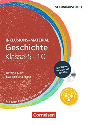 Inklusions-Material: Geschichte Klasse 5-10: Buch mit CD-ROM