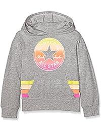 Converse Sunset Hoodie, Sweat-Shirt à Capuche Fille