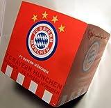 FC Bayern München Zettel / Abreißpapier / Notizblock Logo FCB