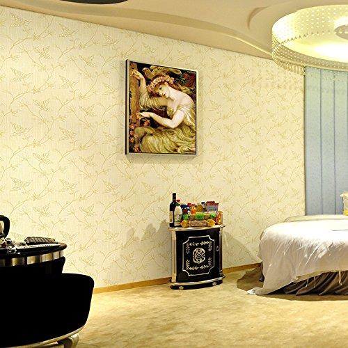 Ambiente casa commercio all'ingrosso di panno senza giunte di parete di stile da rivestimento PVC panno non tessuto di rivestimento murale