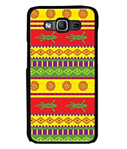 Samsung Galaxy J5 (2015), Samsung Galaxy J5 Duos (2015 Model) , Samsung Galaxy J5 J500F, Samsung Galaxy J5 J500Fn J500G J500Y J500M Back Cover Vivid Seamless Vector Pattern With Mexican Ornaments Design From FUSON