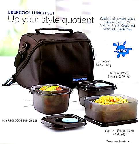 Tupperware Ubercool Lunch Set