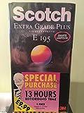 Scotch VHS Extra Grade Plus blanko Video Kassetten 4Stück -