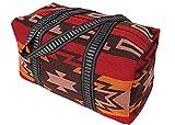 Weekender Tasche Strandtasche Reisetasche Southwest Indian Atztec Style mehrfarbig (rot)