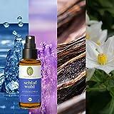 Primavera Bio Duft Kissensprays 30ml aus 100 % naturreinen ätherischen Ölen, Pflegeprodukt:Bio Kissenspray - Schlafwohl