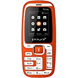 Poya Prime(1.8 Inch Display,1000 MAh Battery,Dual Sim,Vibrator,Glare Torch Light ) (Red)