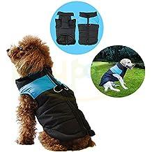 Pequeño perro impermeable del abrigo del revestimiento, Polar Acolchado, Chest Protector pelota animal domestico perro cachorro de vestidos la camiseta para el otoño invierno Ropa fríos de invierno chaqueta–Price Xes