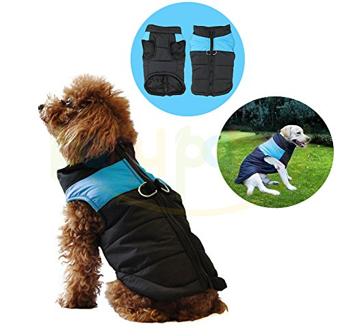 Pet Dogs Winter Vest Coat Jacket Apparel – Dog Cat Warm Soft Light Waterproof Coat Jacket Vest Harness Padded Puffer Warm Winter Clothes For Small to Large Dog – Price Xes
