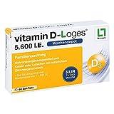 Vitamin D-Loges 5.600 I.E. Gel-Tabs, 60 St. Kautabletten