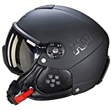 Hmr Skihelm/Snowboardhelm Hmr H3schwarz–Unisex–Schwarz, schwarz, 58