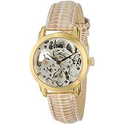 August Steiner AS8033YG reloj de pulsera esqueleto automático