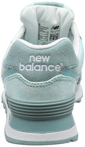 New Balance Wl574swb, Sneakers basses femme Bleu (Turquoise)