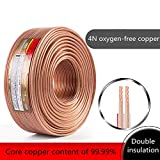 Lautsprecherkabel transparent Loud Audio/Speaker Cable Oxygen-free copper (3M)