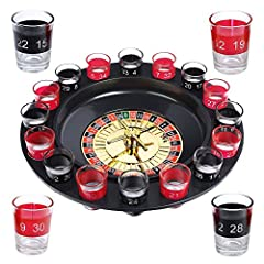 Idea Regalo - Schramm® Drinking Game Roulette incl. Confezione Regalo Party Game Drinking Game per Adulti