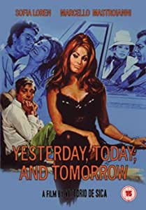 Yesterday, Today and Tomorrow [DVD]: Amazon.co.uk: Sofia ...