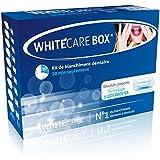 N°1 WhiteCare BOX Kit Blanchiment Dentaire Professionnel Goût Menthe | Kit Blanchiment Dentaire Brillance à domicile | Gel Dent Blanche White Care | Efficacité Prouvée