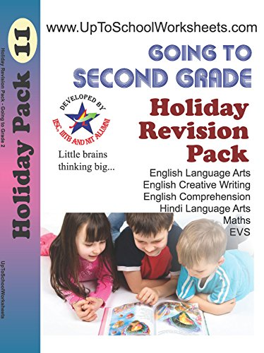Revision Pack Of 3 Books for Kids Going To Class 2, Mixed Subjects worksheets of Class 1, English Handwriting And Hindi Handwriting
