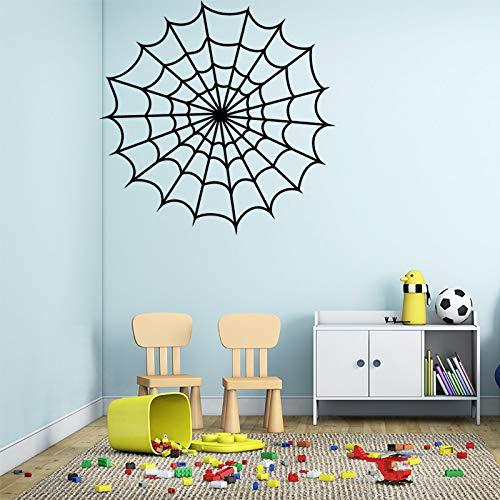Starke net abnehmbare wandaufkleber dekoration zubehör für wohnzimmer vinyl decorativos para wände 58 * 57 cm