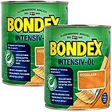 Bondex Douglasien Intensiv Öl, 1,5 Liter - sprühbares Schutz- und Pflegeöl für Innen und Aussen, Gartenmöbel und Terrassenöl