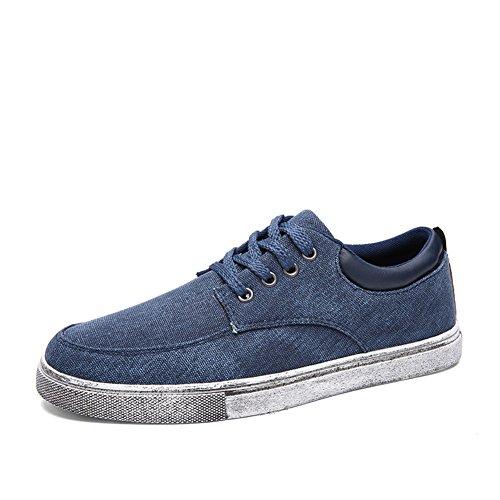 Estate moda casual scarpe/Tendenza delle scarpe comode uomo Blu marino