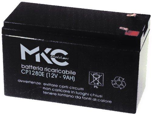 Melchioni Batterie au PloMB de 12 Volts 9 a