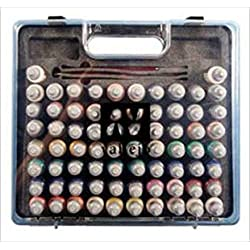 Vallejo Game Color Box Set (72 Colours + 3 Brushes + Carry Case)