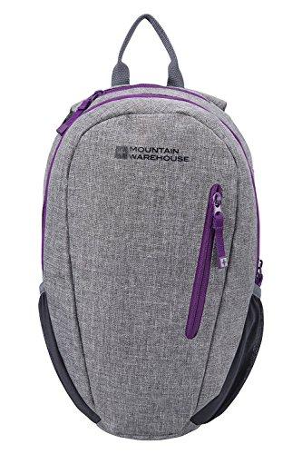 mountain-warehouse-small-rucksack-espirit-10-litre-lightweight-adjustable-travelling-charcoal