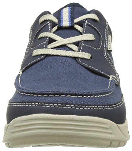 Rockport Randle Moc Toe, Baskets Basses Homme Bleu (Blue)