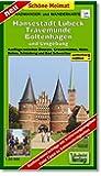 Radwander- und Wanderkarte Hansestadt Lübeck, Travemünde, Boltenhagen und Umgebung: Ausflüge zwischen Dassow, Grevesmühlen, Klütz, Rehna, Schönberg und Bad Schwartau. 1:50000 (Schöne Heimat)