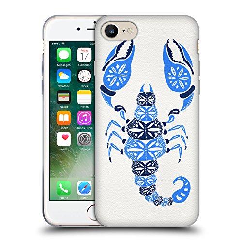 Ufficiale Cat Coquillette Nero oro Scorpione Insetti Cover Morbida In Gel Per Apple iPhone 6 Plus / 6s Plus Scoprione Blu
