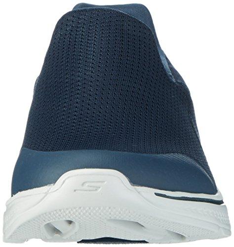 Skechers Go Walk 4, Baskets Basses Homme Bleu (Nvgy)