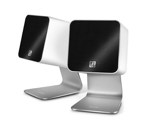 UltraLink UFi Ucube Tragbare Digital Lautsprecher USB 2.0 wei (Ultralink Kabel Digital)