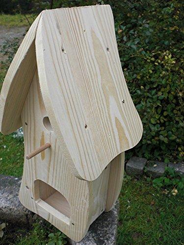 Dekorativer Nistkasten(NB1)-mit Vogelfutterhaus - 3