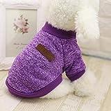 Ducomi® Classic - Sudadera con Puños y Cojín Soft Cotton Jacket - Disponible en Todos los Tamaños y Colores de Mezcla Variados (Purple, S)