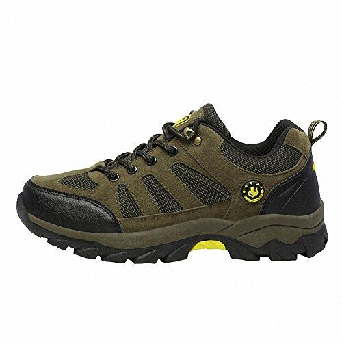 Ben Sports Damen Herren Wanderhalbschuhe Wanderstiefel Traillaufschuhe Walkingschuhe Laufschuhe Grün