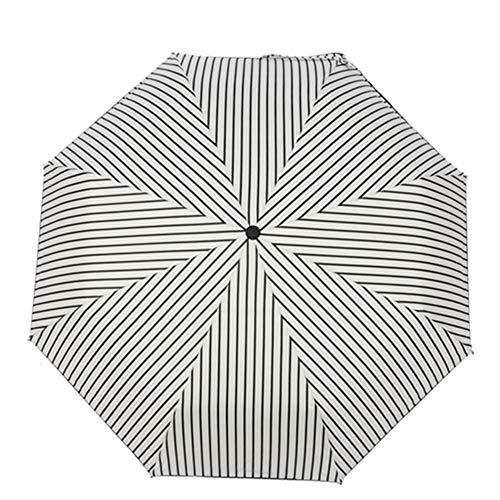 OMJNH Regenschirme, Taschenschirme, geeignet für Sonne und Regen - Leichte und kompakte Regenschirme, UV-Schutz, geeignet für Männer und Frauen,2 -