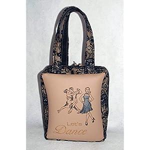Damentasche Let's Dance Schuhtasche Henkeltasche Messenger-Bag