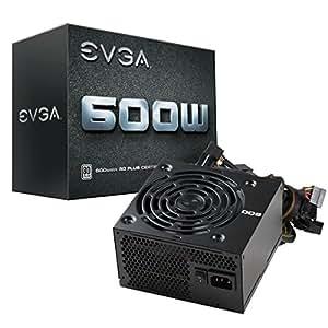 EVGA 100-W1-0600-K2, Alimentazione PSU 600W, Colore nero