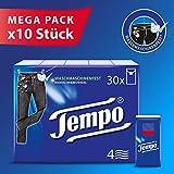 Tempo Taschentuch Tempo Standard, Riesenpackung (10x30...