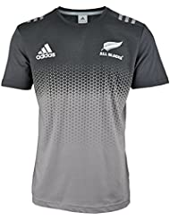 adidas AB Cott TEE Camiseta All Blacks, Hombre, Gris (Grpudg / Blanco), 2XL