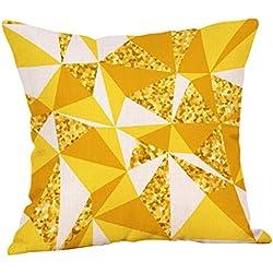 Dorical Funda De Almohada Cubierta 45 * 45 Cm Simple Moda Geométrica Celosía Patrones De Regalo Suave Sofá del Coche Cama Tapicería Cojín