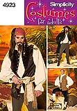 Simplicity Schnittmuster 4923AA Herren Kostüme